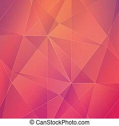 backgroun, résumé, vecteur, géométrique