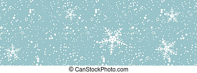 backgroun, tempête neige, seamless, hiver