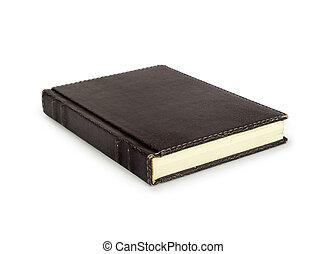 backgroun, witte , boek, vrijstaand