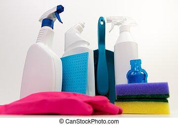 background., белый, продукты, уборка