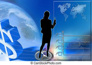 background., бизнес