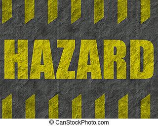 Background 003 - Sign warning of hazards