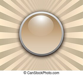 Background 3d with button