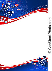 Background 4th of July vertical - Use either the entire ...