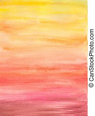 Background - Abstract background watercolor painted.