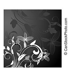 background abstract floral pattern