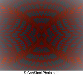 Background abstract vector red