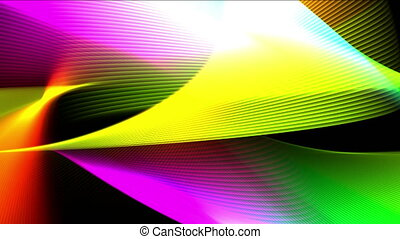 background abstract wave 4k