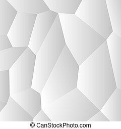 Background abstract white vector creative design. Cells pattern.