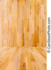 Background Abstract with wooden floor