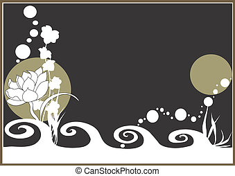 Background - An illustration of a decorative background