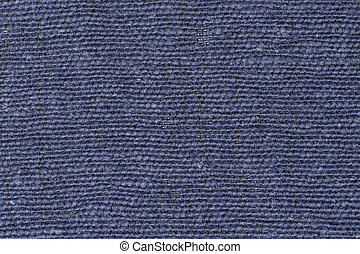 Background and texture blue fabric. Close up