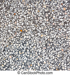 Decorarive Gray Terrazzo Floor
