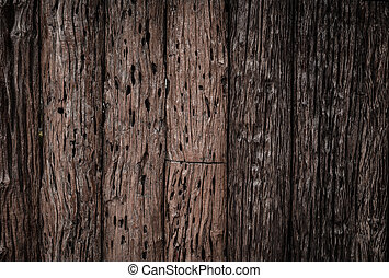 old wood stripe decorative fence