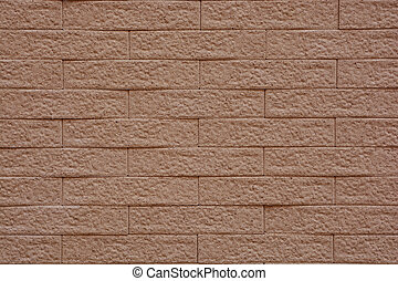 background and texture of vintage style decorative brown brick wall