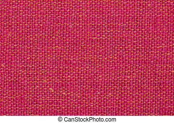Background and texture red fabric. Close up