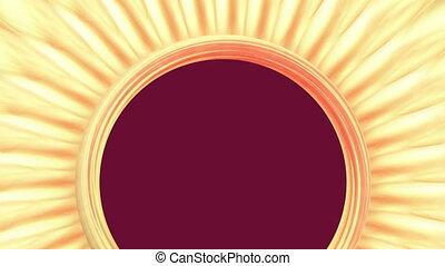 Sun anstract - Background Animation - Art supplies -...