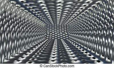 Metal - abstract machine - Background Animation - Art...