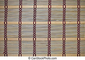 background bamboo mat