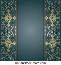 Background baroque,vintage vector