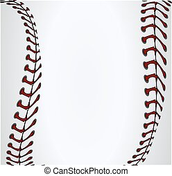 background baseball laces