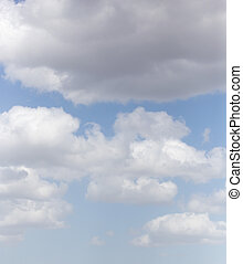 background beautiful clouds in the sky