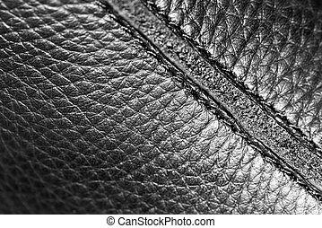 background black leather