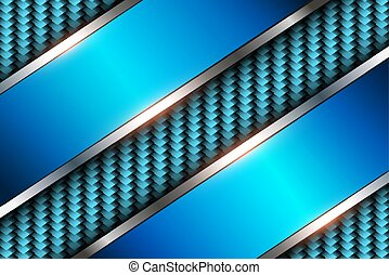Background blue 3d