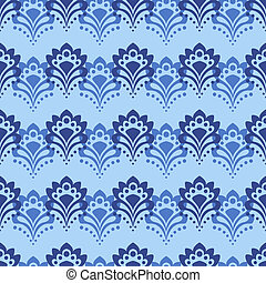 Background - Blue Flowers