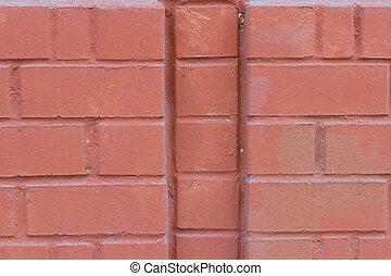 background brick wall.