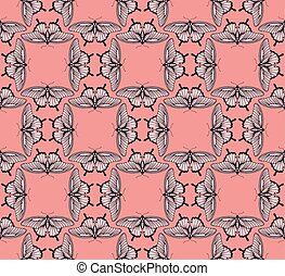 Background Butterfly Pattern