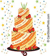 background cake