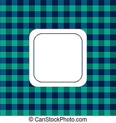 Background checkered green and blue