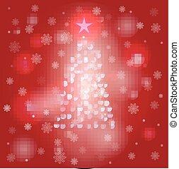 Background Christmas tree