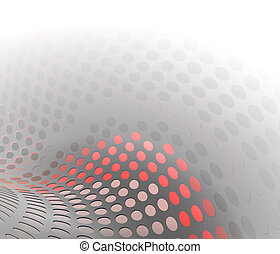 background circles wave