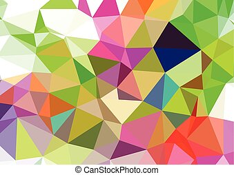 background. Clip-art vector geometric