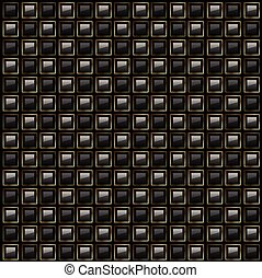 background abstract square pattern vector black design.