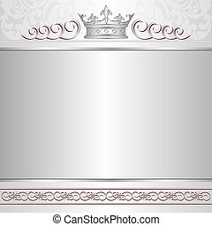 background - royal background with crown