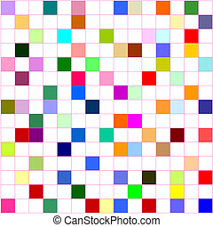 background  - colorful grid board (for background uses)