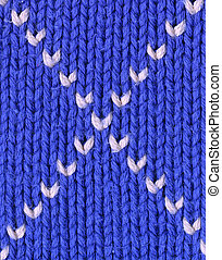 Background - closeup of knitted textile