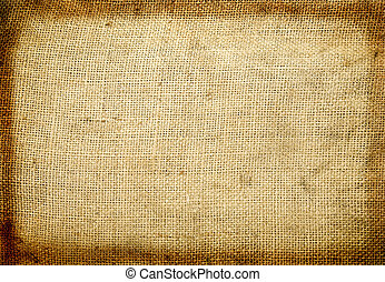 background cloth - background old rough canvas texture.