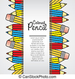 background color pencils
