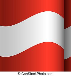 background color with waving flag of austria