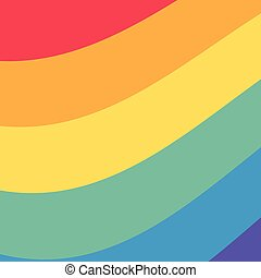 background colors rainbow