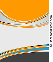 Background concept design for brochure or flyer, abstract vector illustration.