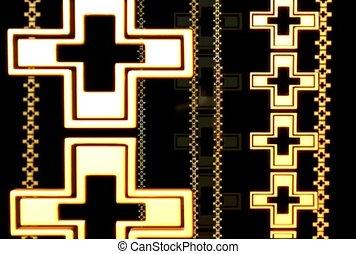 background, cross, symbol