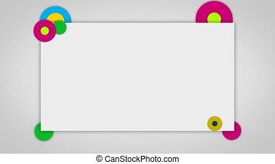 background design isolated blank pa