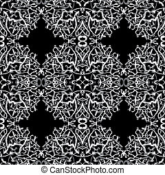 Background Design. - Vector Illustration of a muslim...