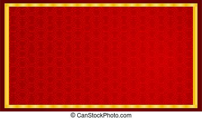 Background design with abstract pattern in red