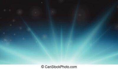 Background design with blue light